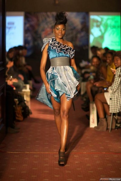 Boikanyo at Limkokwing Fashion Show