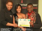 Katrinah Phenyo gets HIV/AIDS Peer Educator certificate